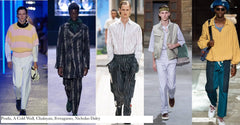 Menswear Trends from LMFW - S/S 2020