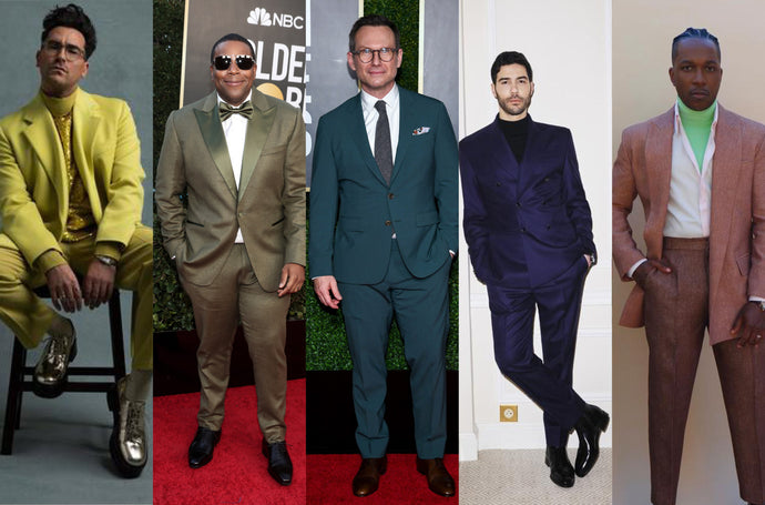 What do the suits at the Golden Globes tell us about menswear in 2021?