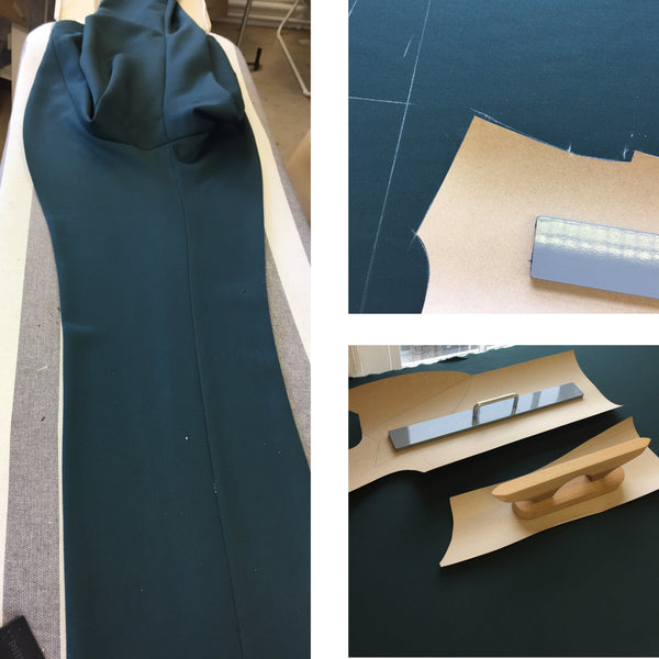 Bespoke Suit - Cutting Table - Kipper & Chalk