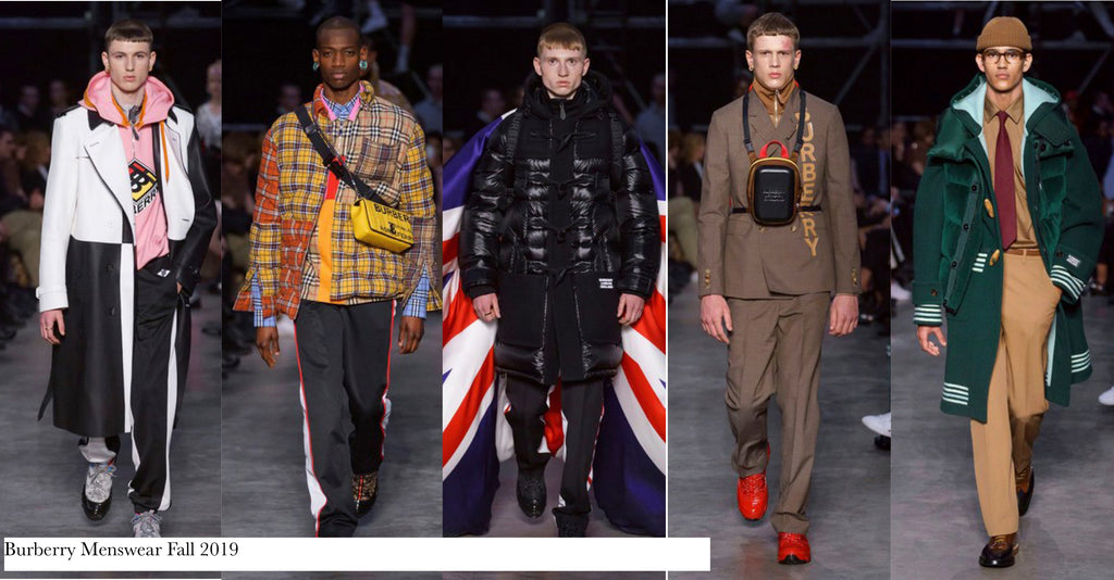 Burberry Menswear 2019