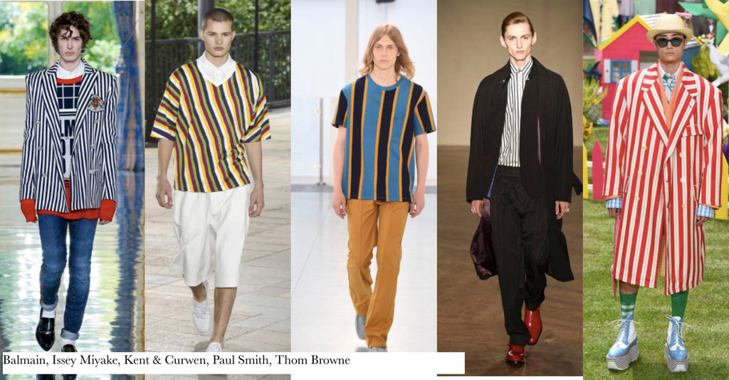 SS 19 Menswear Trends - Stripes
