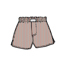 Load image into Gallery viewer, Striped Cotton Boxers