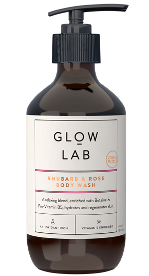 Rhubarb and Rose Body Wash 900ML