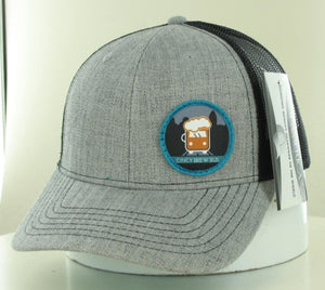 Cincy Brew Bus Snapback Grey and Black Hat