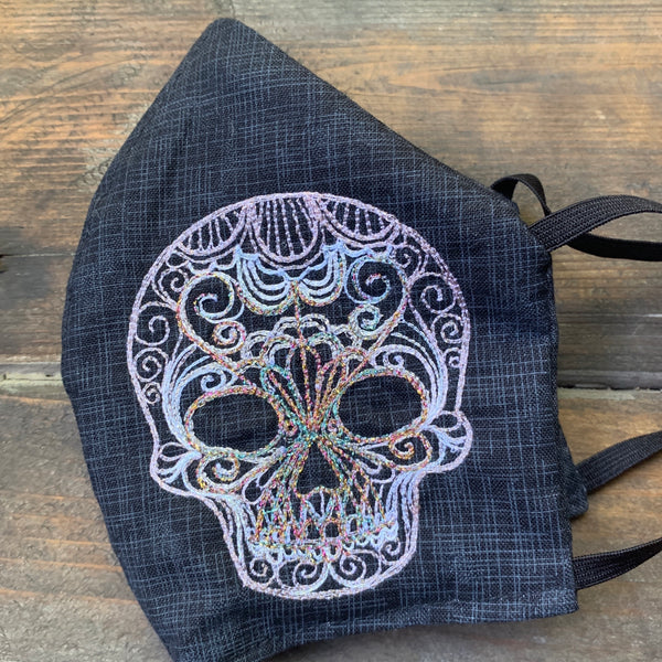 NEW Embroidered Face Masks