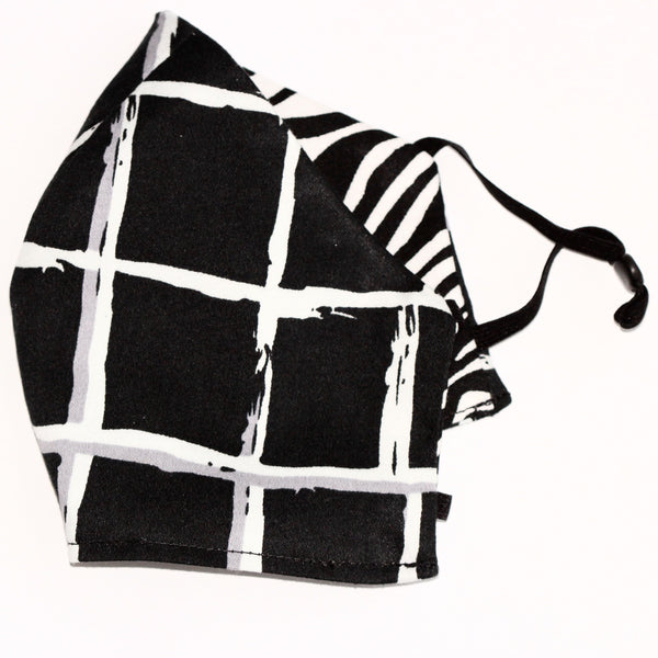 Zebra Abstract FaceMask