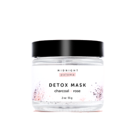 Midnight Paloma Charcoal + Rose Detox Mask