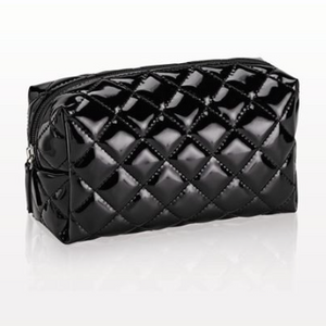Quilted Small Black Bag