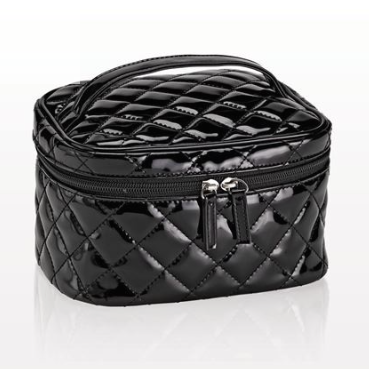 Quilted Medium Black Bag