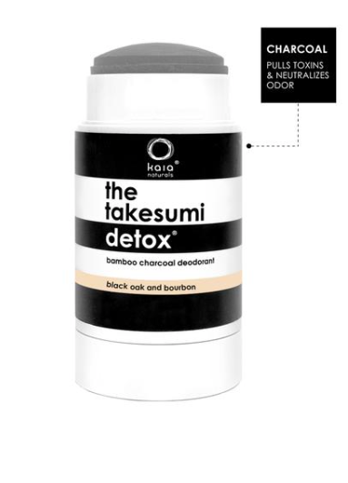 The Takesumi Detox Black Oak Deodorant