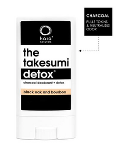 The Takesumi Detox Black Oak Travel Size