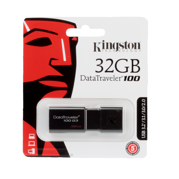 Pendrive Kingston DT100 32GB USB 3.0