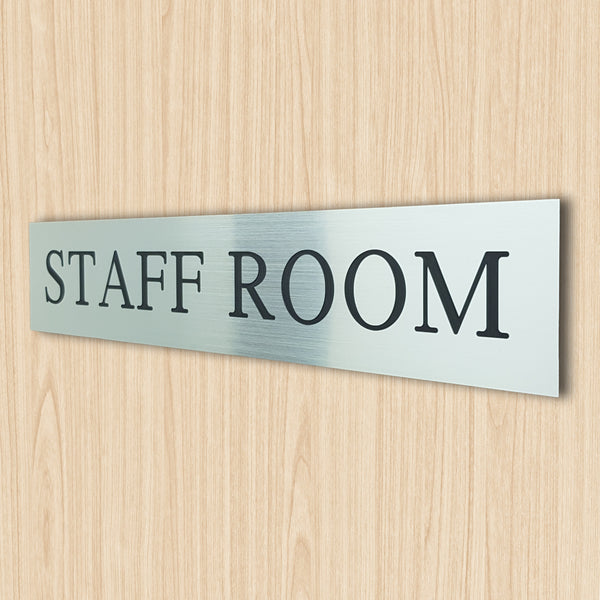 Staff Room Sign