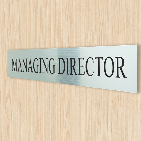 Managing Director Sign
