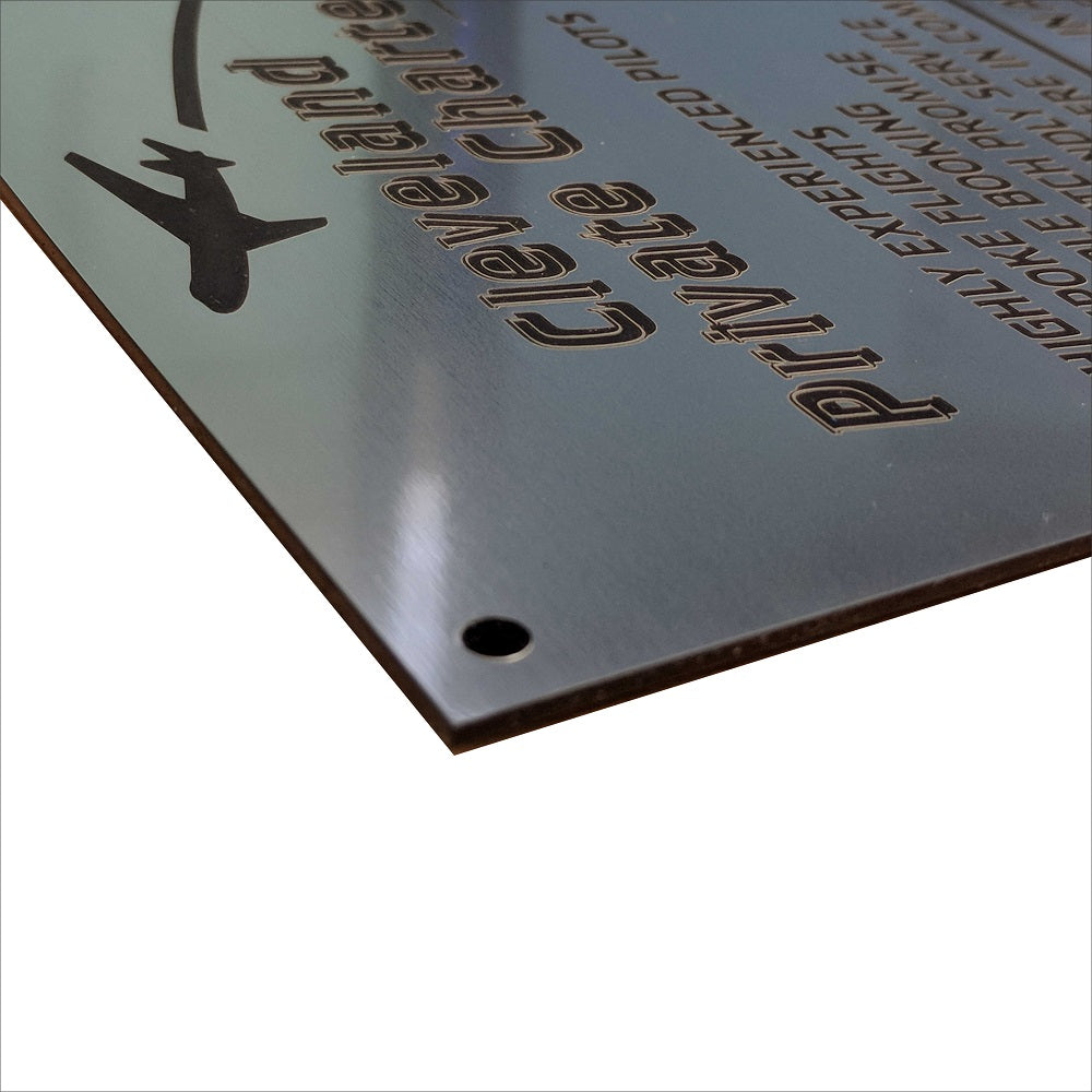 A4 Engraved Acrylic Signs