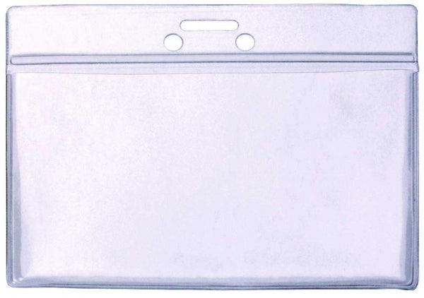 Clear PVC Wallet for use with lanyards