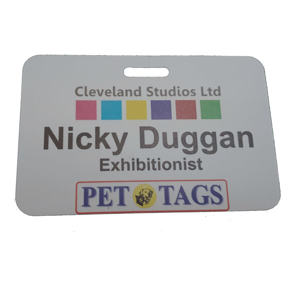 Clip & Hanging ID Badges
