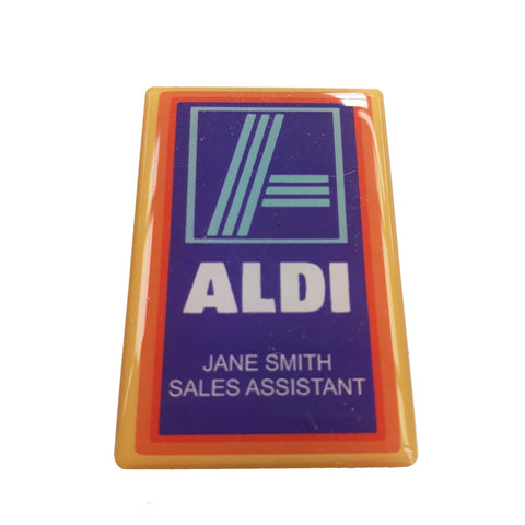 Bespoke Shaped Badges