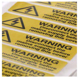 Self Adhesive Vinyl Labels