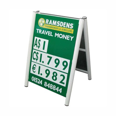 Arden Small Pavement Sign-with Printed panels
