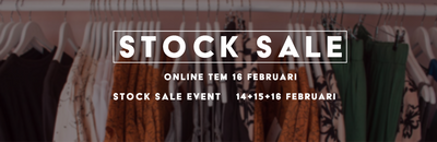 STOCK SALE I End of season %