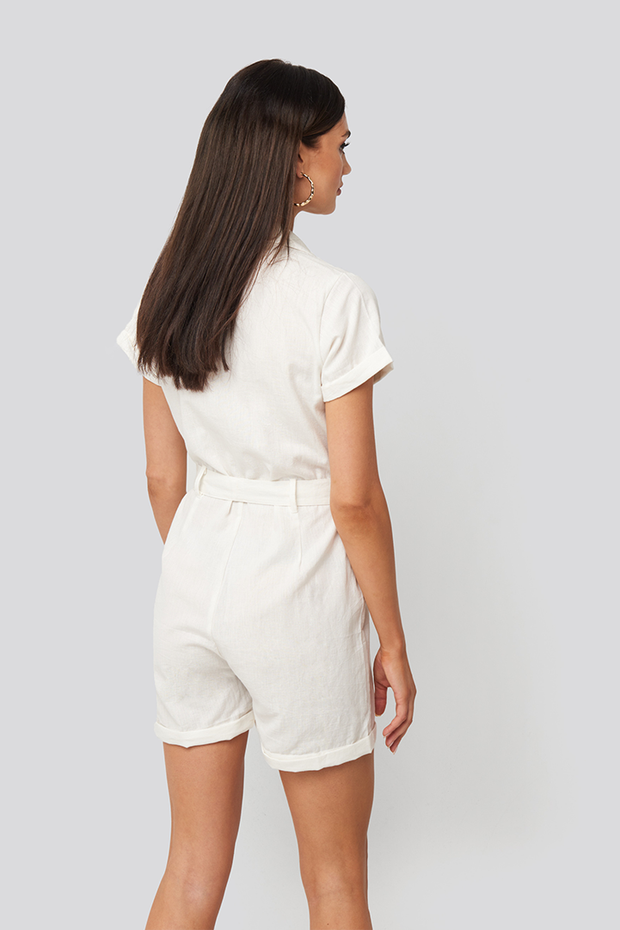 Playsuit Andrea wit