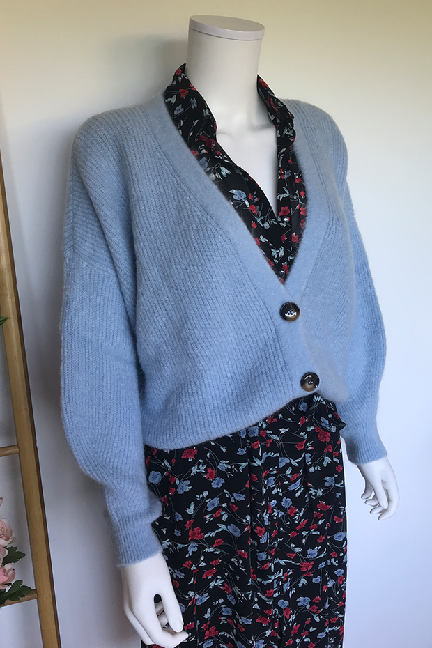 Cardigan Billy-Joe pastel blue
