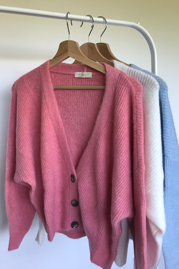 Cardigan Billy-Joe Pink