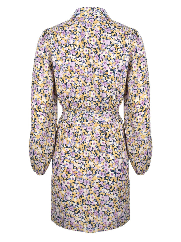 Dress Lodi Lilac flower print