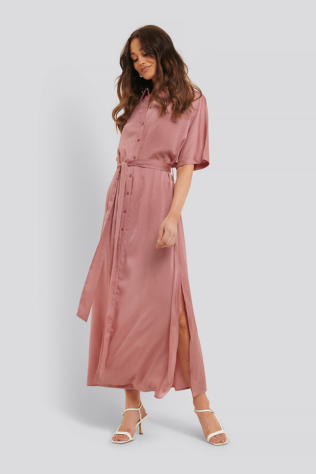 Maxi dress Tilde dusty pink