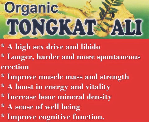 Tongkat Ali 200:1 Root Extract Powder Capsules (Erections)