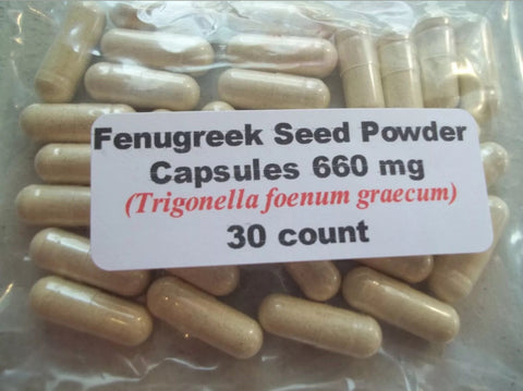 Fenugreek Capsules (Stop Hair Loss) 30 Capsules