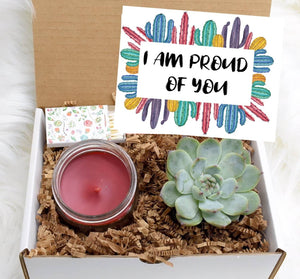 I Am Proud Of You Succulent Gift Box (XBB9)