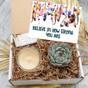 Believe in How Strong You Are Succulent Gift Box (XBC4)