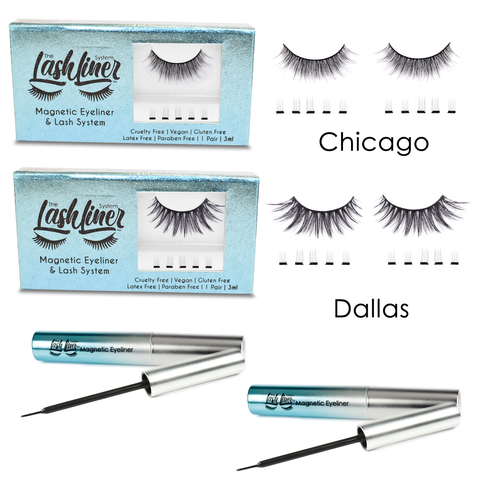 Double Up! Dallas and Chicago bundle