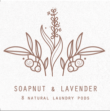 Load image into Gallery viewer, Soapnut Natural Laundry Pods