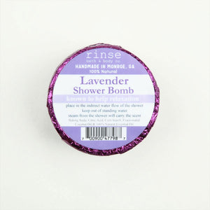 Lavender Shower Bombs