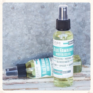 Blue Hawaiian Body Bliss Oil
