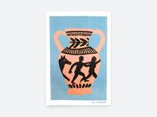 "Laden Sie das Bild in den Galerie-Viewer, Poster ""Greek Vase""/ DIN A5 / Léa Maupetit"