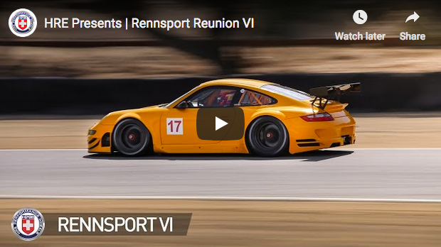 HRE Wheels Attends Rennsport Reunion VI
