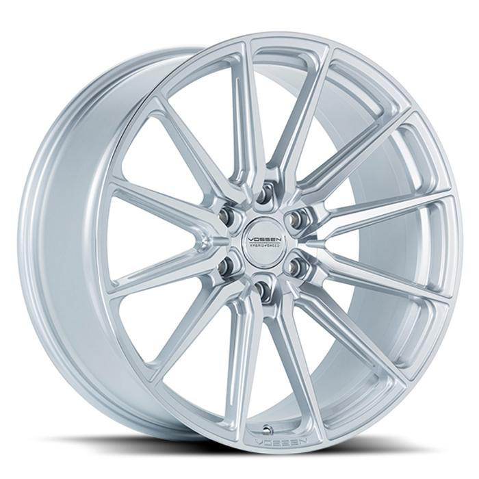 <b>Vossen</b> Hybrid Forged HF6-1 -<br> Silver Polished