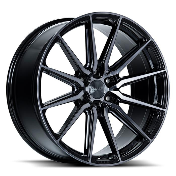<b>Vossen</b> Hybrid Forged HF6-1 -<br> Tinted Gloss Black