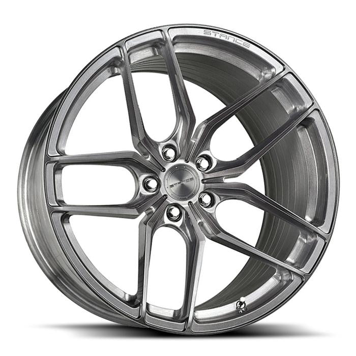 <b>Stance</b> SF03 -<br> Brushed Titanium