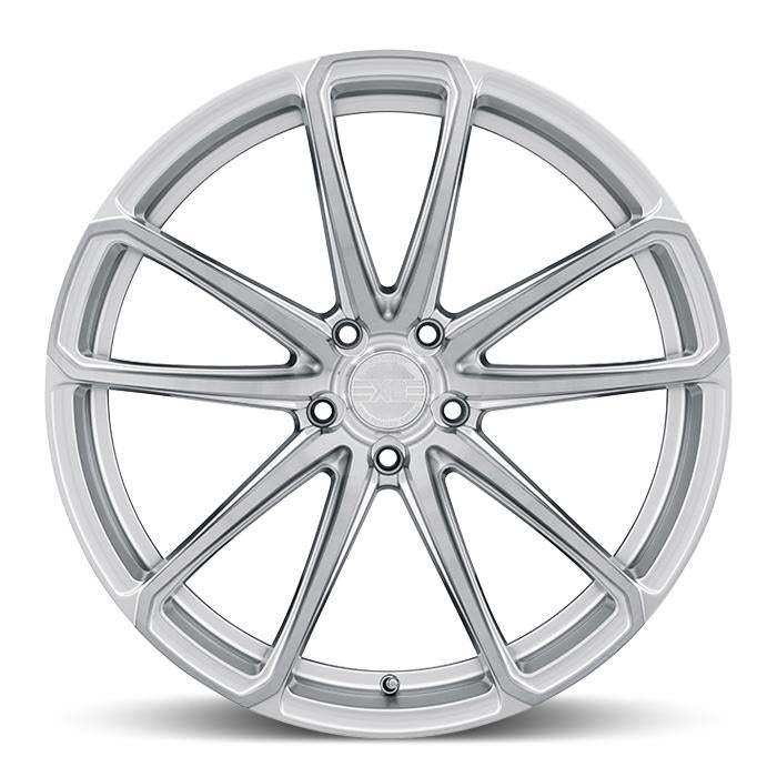 <b>XO Luxury</b> Madrid -<br> Hyper Silver w/ Milled Spoke and Brushed Face