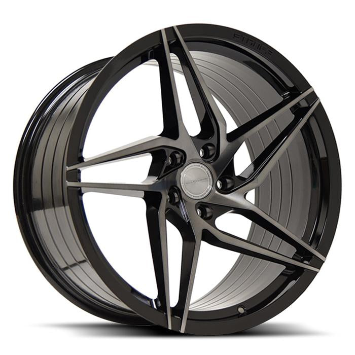 <b>Stance</b> SF04 -<br> Gloss Black Tinted Face