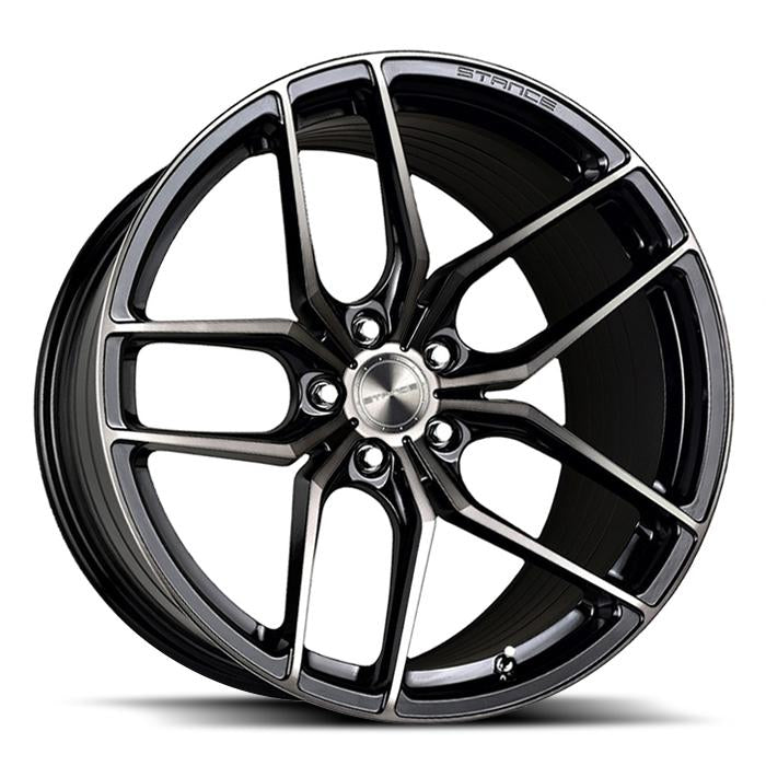 <b>Stance</b> SF03 -<br> Gloss Black Tinted Face