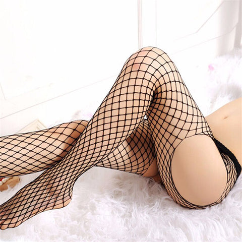 Fishnet Tights Open Cage Style