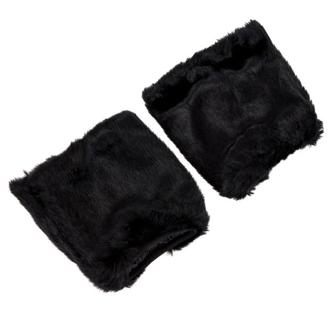 Furry Go Go Boot Covers