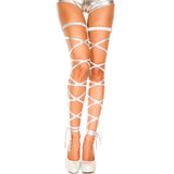 Rave Leg Wrap Harness Stockings