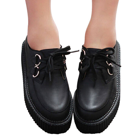 Creepers Leather Shoes